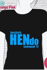 Hen Night T-Shirt Print - HN04