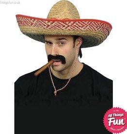 Smiffys Sombrero Straw Hat
