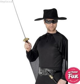 Smiffys Rapier Sword and Eyemask