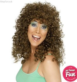 Smiffys Brown Boogie Babe Wig