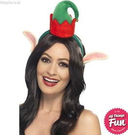 Smiffys Mini Elf Hat with Ears