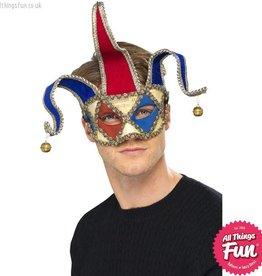 Smiffys Venetian Musical Jester Eyemask