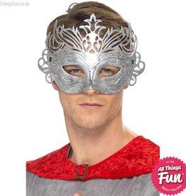 Smiffys Colombina Silver Mask