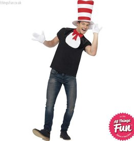 Smiffys Adult Cat In The Hat Kit