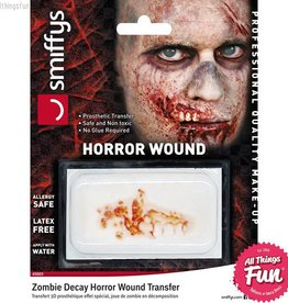 Smiffys Zombie Decay Horror Wound Transfer