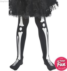 Smiffys Childs Skeleton Tights