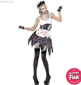 Smiffys *DISC* Zombie French Maid Medium