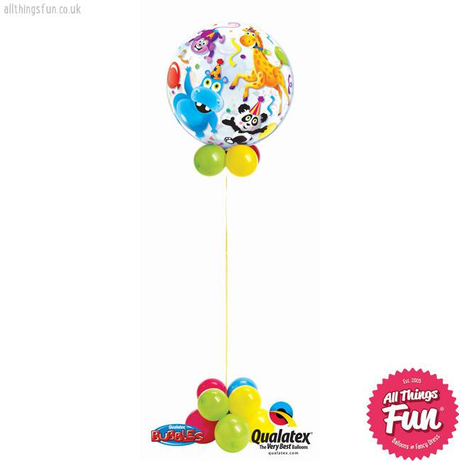 Party Animals Bubble Design