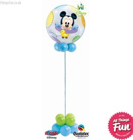 Baby Mickey Bubble Design