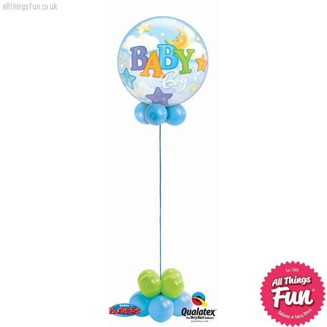 Baby Boy Bubble Design