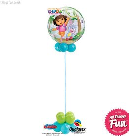 Dora The Explorer Bubble Design