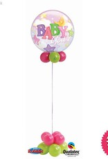 Baby Girl Bubble Design