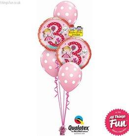 Rachel Ellen Birthday Princess Polka Dot Classic