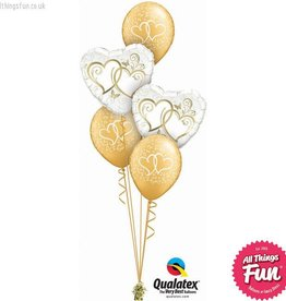 Entwined Hearts Gold Classic