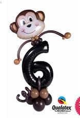 Monkey Party Friend Number (Ages 1 to 9)