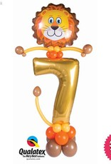 Lion Party Friend Number (Ages 1 to 9)