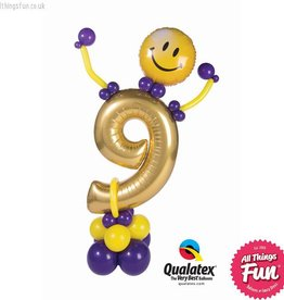 Birthday Party Friend Number (Ages 1 to 9)
