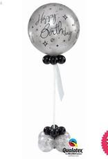 Happy Birthday Elegant Giant Latex