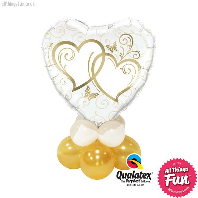Gold Entwined Hearts Mini