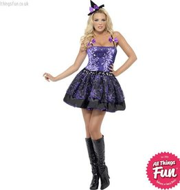 Smiffys *DISC* Witch Glimmer Small