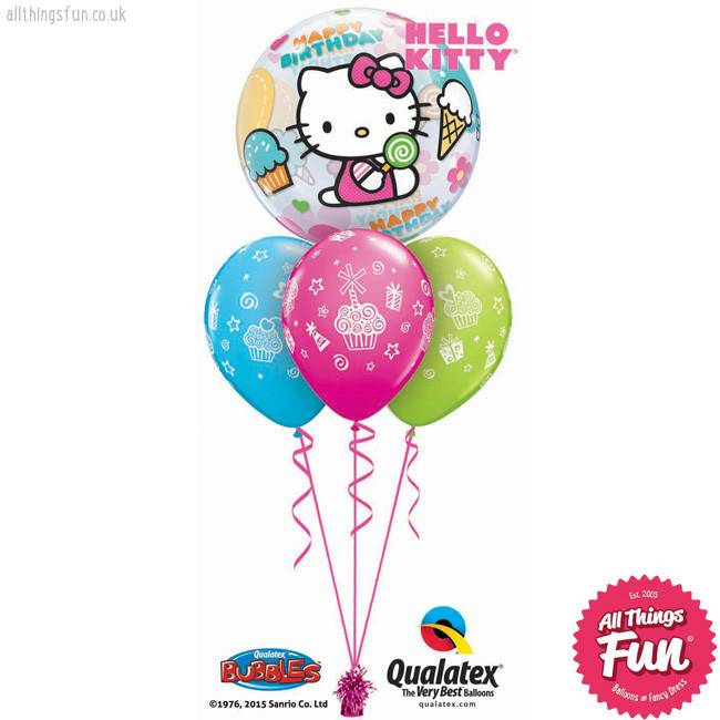 Hello Kitty Birthday Bubble Layer