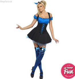 Smiffys *DISC* Wicked Witch Blue Large