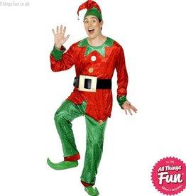 Smiffys Plush Elf Costume Large