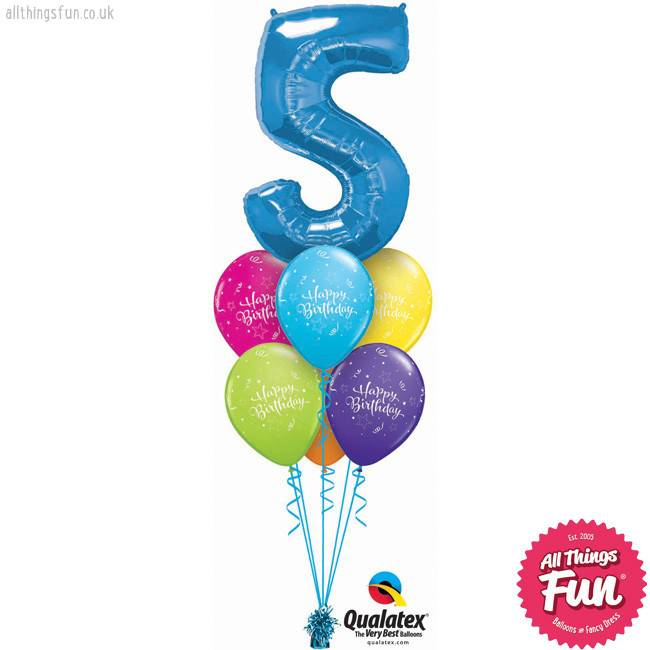 Number Happy Birthday Luxury (Ages 1 to 9)