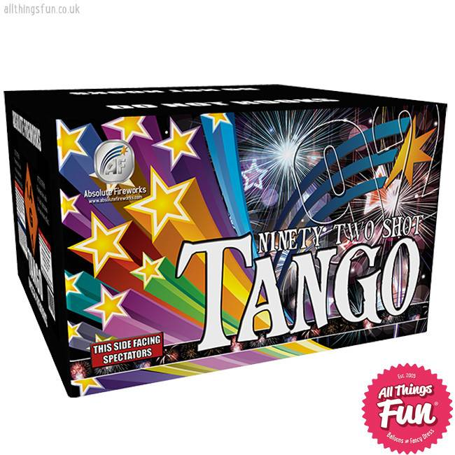 Absolute Fireworks Tango - 92 Shot