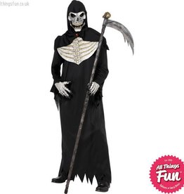 Smiffys *DISC* Deluxe Grim Reaper Medium