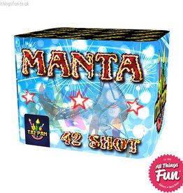 Taipan Fireworks Manta - 42 Shot single