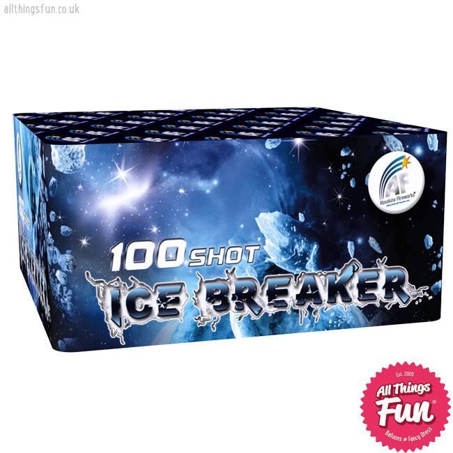 Absolute Fireworks Ice Breaker - 100 Shot single