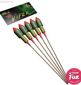 Taipan Fireworks Viper Rocket Pack single