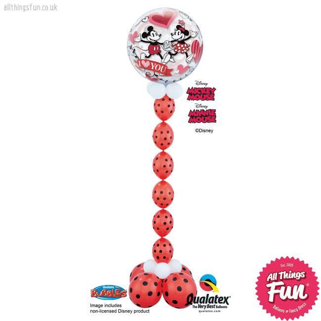 Mickey & Minnie I Love You Bubble Chain