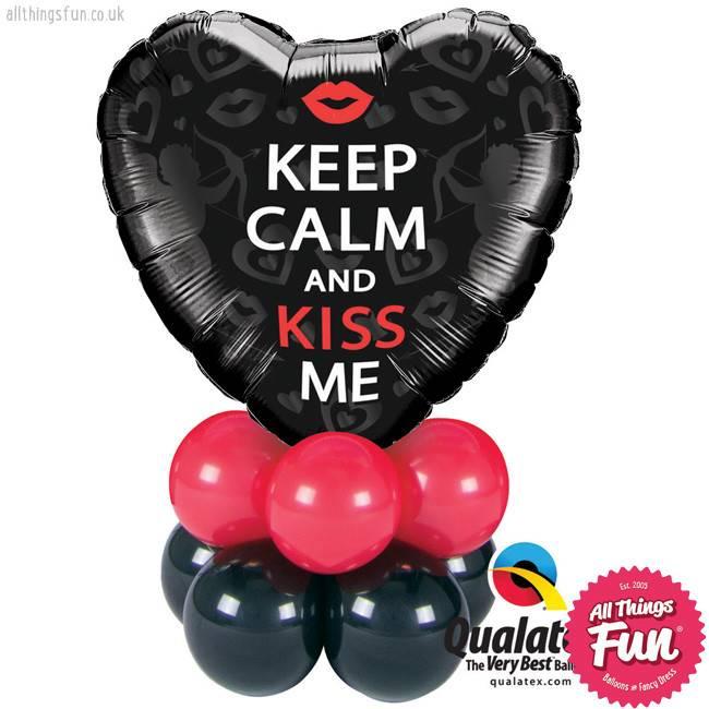 Keep Calm & Kiss Me Mini