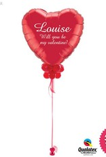 Personalised Giant Heart Valentines