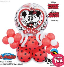 Mickey & Minnie I Love You Bubble Super Plus
