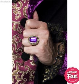 Smiffys *DISC* Gothic Manor Jewelled Ring