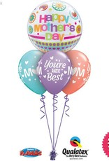 Mothers Day Dots & Patterns Bubble Layer