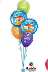 Birthday Cake Blue Classic