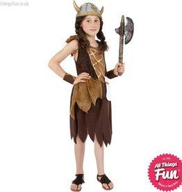 Smiffys Viking Girl Costume
