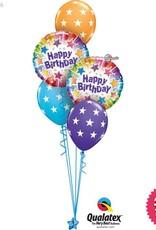 Birthday Radiant Stars Classic