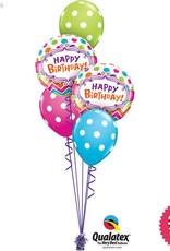 Birthday Chevron Dots Classic