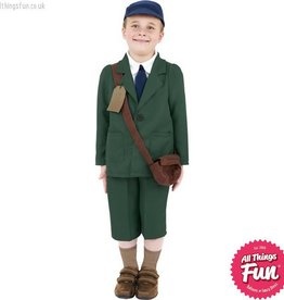 Smiffys World War II Evacuee Boy Costume