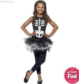 Smiffys Skeleton Tutu Costume