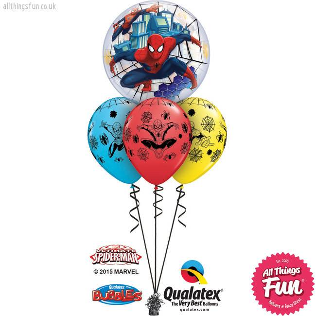 Marvels Ultimate Spiderman Bubble Layer
