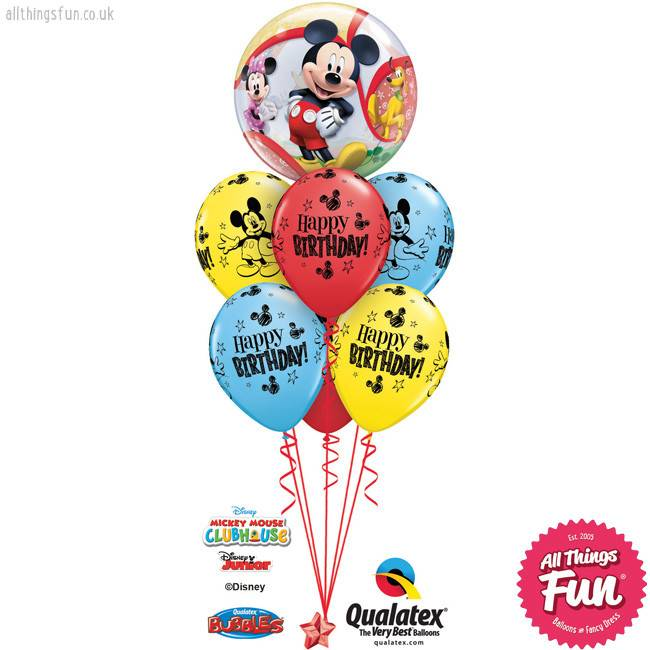 Mickey Mouse Birthday  Bubble Luxury