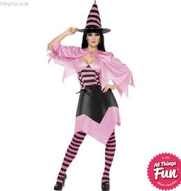 Smiffys *DISC* Hot Pink Witch Large