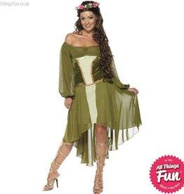 Smiffys Fair Maiden Costume