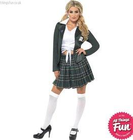 Smiffys Preppy Schoolgirl Costume